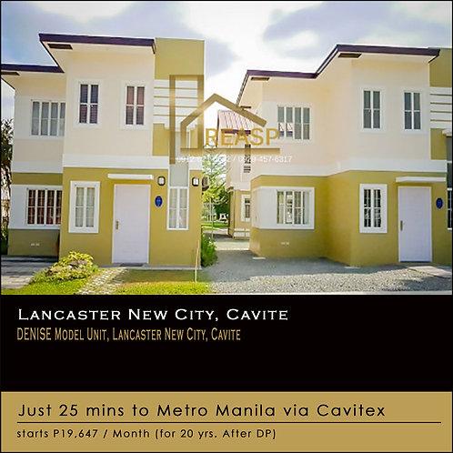 Denise Model Unit, Lancaster New City, Cavite