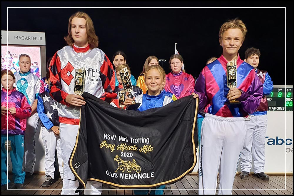 NSW Mini Trots - Miracle Mile 2020 - Pony Division Winners