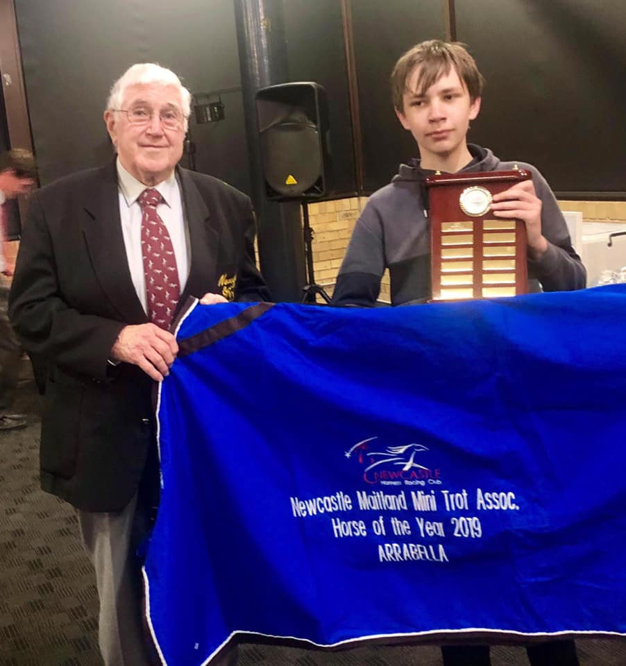 Newcastle Maitland Mini Trots Horse Of The Year  - ARRABELLA