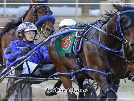 Seaton 1st Win After Graduating Mini Trots