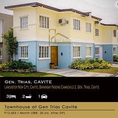 Townhouse for sale at Cavite