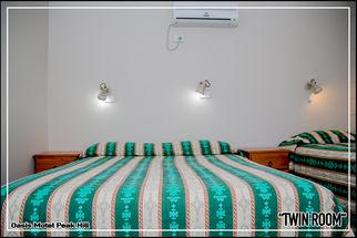 Oasis Motel Peak Hill - book Twin Room - 005