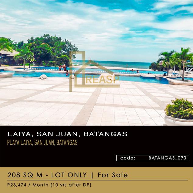 Lot For Sale at Location Laiya San Juan Batangas