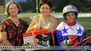 Parkes Harness Ended The Year With Style