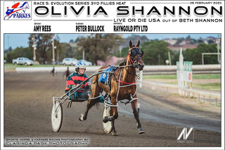 OLIVIA SHANNON driven by Amy Rees and trained by Peter Bullock