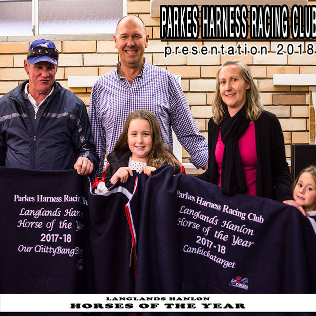 Parkes Harness Awards and Presentation 2018 - HORSES OF THE YEAR