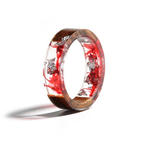 Volcano Resin Ring