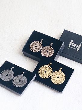 oxcart earrings