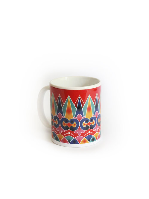 Oxcart Wheel Mug