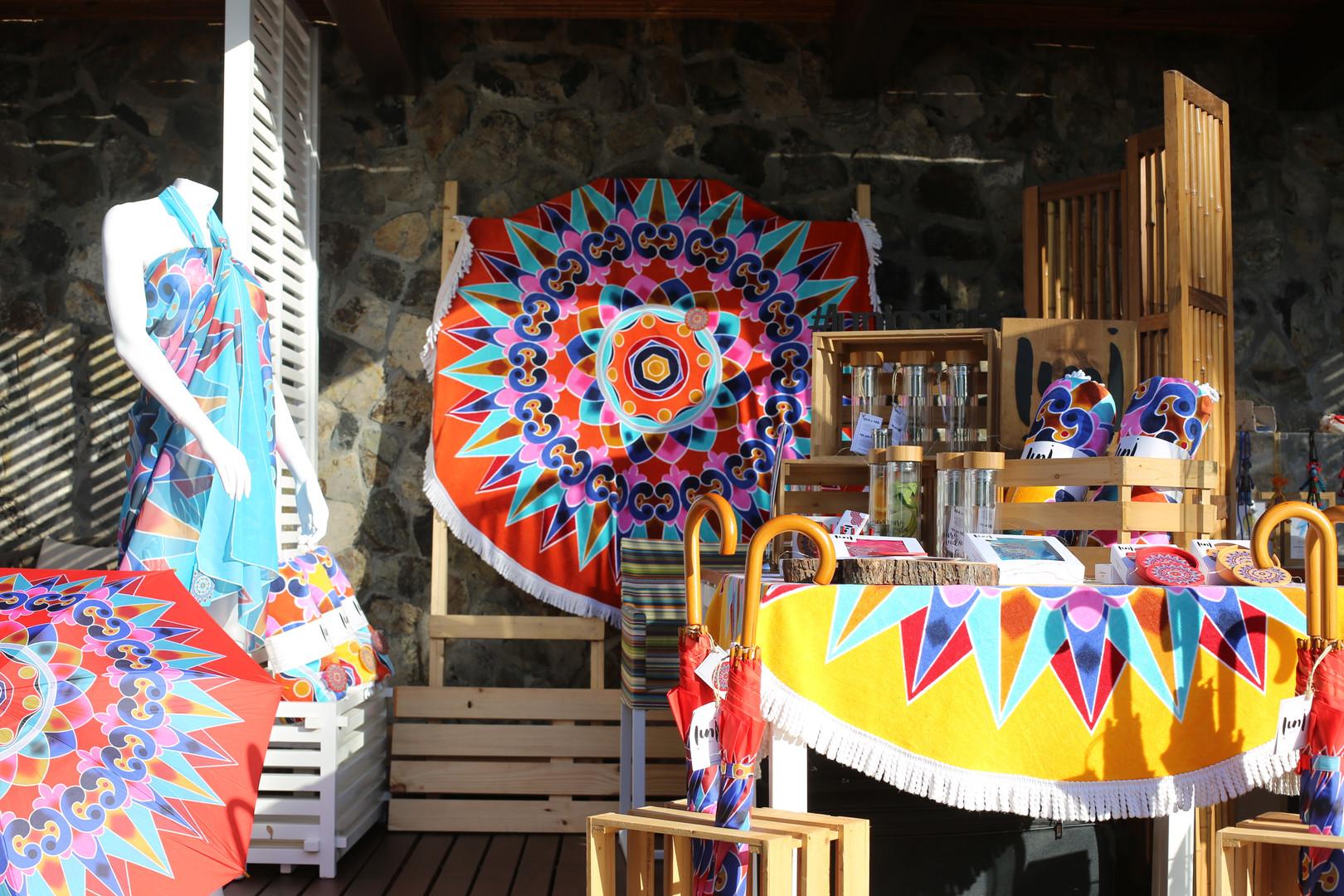 playa prieta beach club pop up market