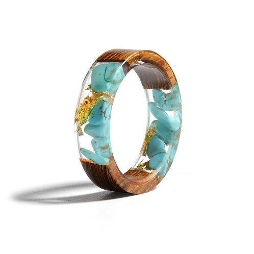 Beach Resin Ring