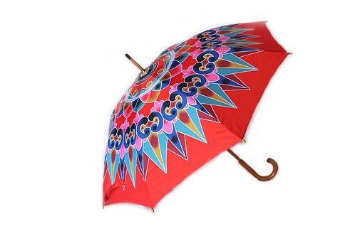 Oxcart Wheel Umbrella