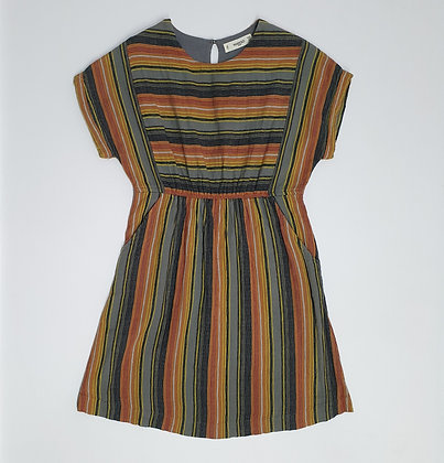 Textured Stripe Dress