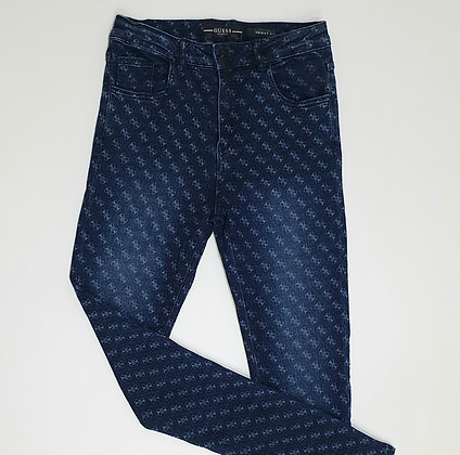 Repeated Motif Jeans