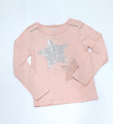 Sequin Star Long Sleeve Top