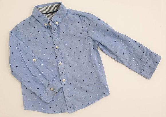 Nautical Print Shirt (Blue)