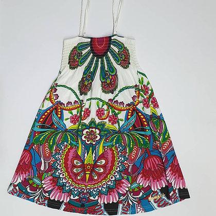 Floral Spaghetti Dress
