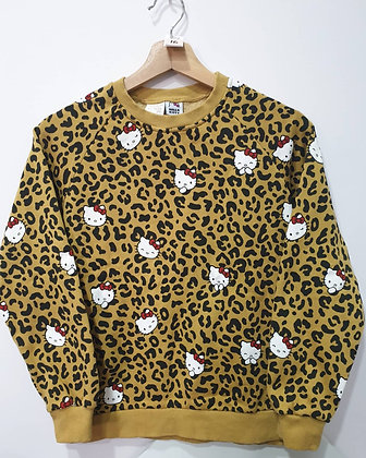 Hello Kitty x Leopard Prints Pullover