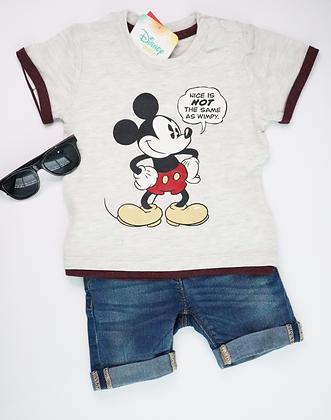 Mickey Printed Tee