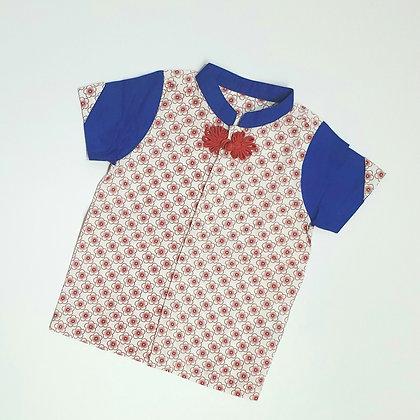 Sakura Motif Shirt