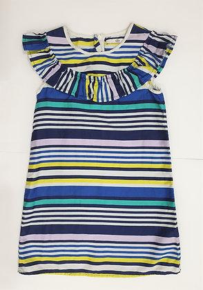 Multicolored Stripe Dress