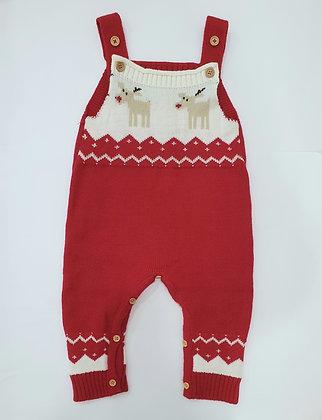 Christmas Crochet Jumpsuit