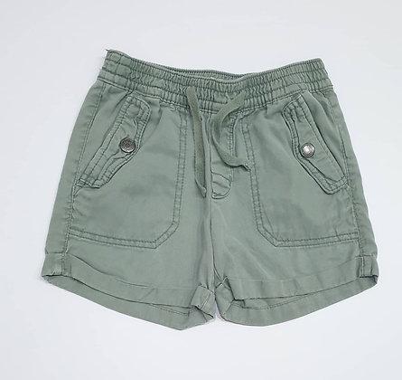 Green Fold-up Style Shorts