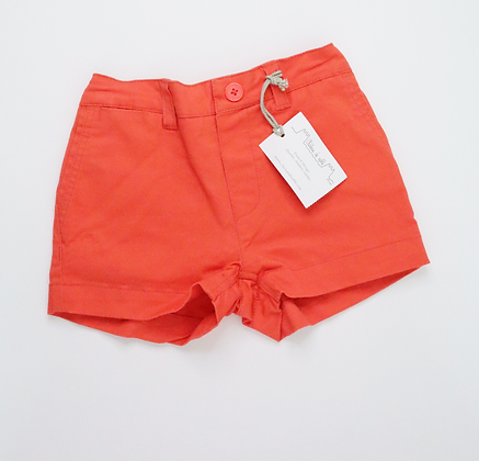 Fold-Up Style Shorts (Coral)
