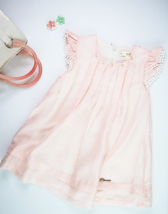 Sleeveless Dress (Pink)
