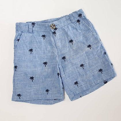 Palm Linen Shorts