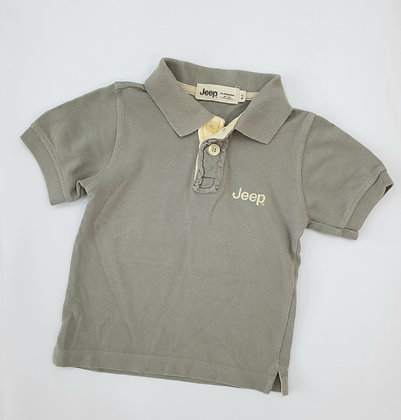 Olive Grey Polo
