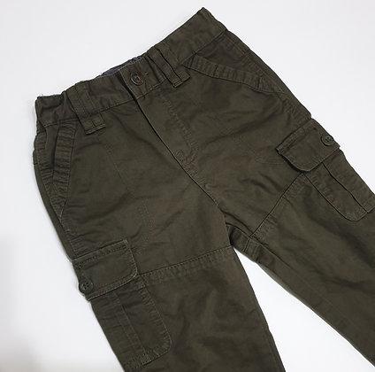 Dark Olive Cargo Pants