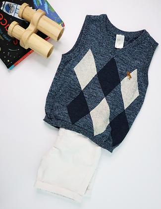 Sleeveless Knit Pullover