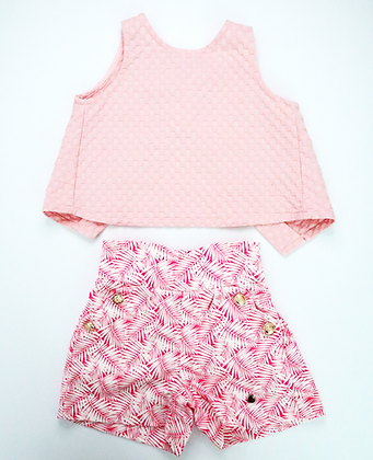 Cropped Top (Pink)
