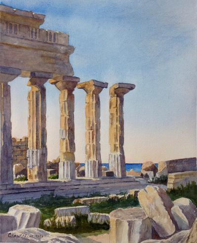 Temple C, Selinunte, Sicily