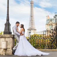 Casal Casamento Paris