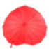 Fashion-Red-Heart-Shaped-Red-Rain-Umbrel