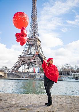 Mini Photo Tours-Margem do Sena-Balões-Torre Eiffel-Fotorafo-Paris