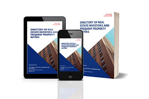 Directory of Real Estate Investors and Frequent Property Buyers