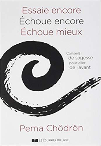 """Pema Chödrön, """"Essaie encore, Echoue encore, Echoue mieux"""""""