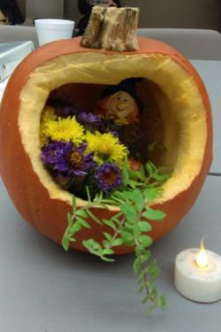Mavis' pumpkin
