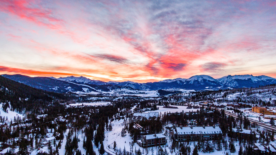 Keystone, CO Sunset