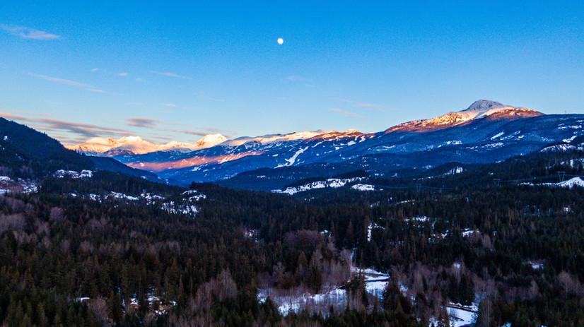 Whistler, BC Sunset
