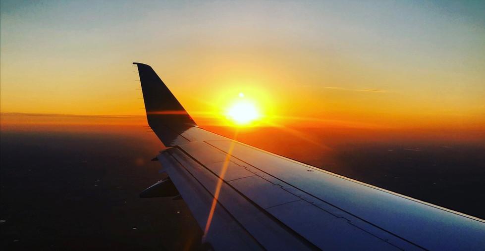 Golden Hour Flight