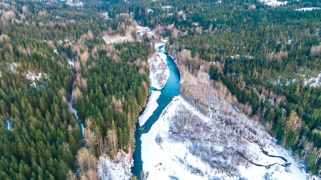 British Columbia River