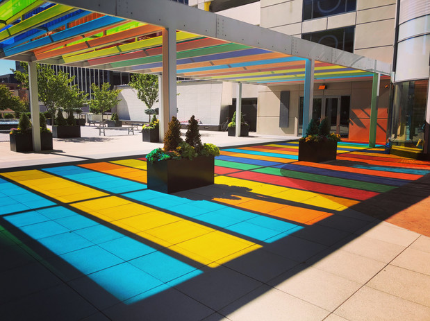 Walkway of Colors