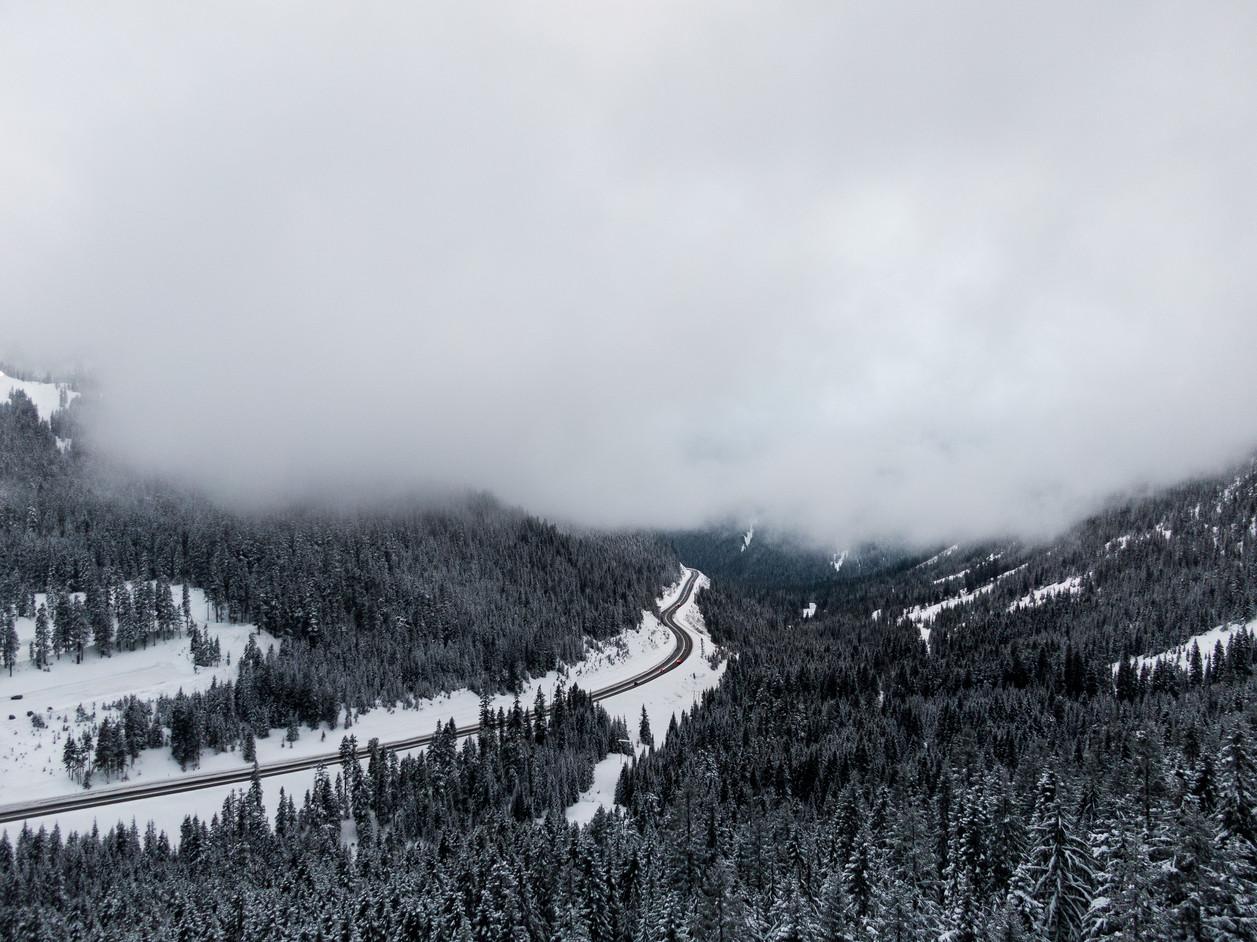 British Columbia Fog