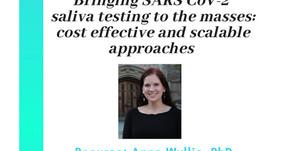 Saliva testing for the Masses