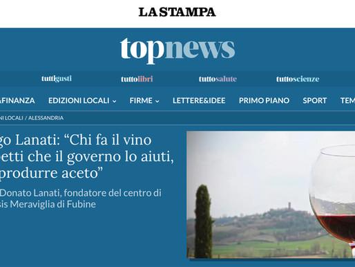"""""""Chi fa il vino non aspetti che il governo lo aiuti, meglio produrre aceto"""""""