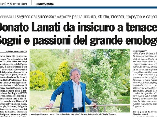 Donato Lanati da insicuro a tenace